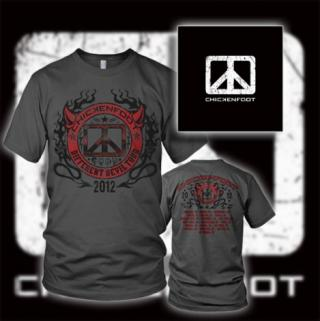 Pre-order New Bundle Featuring Re-released Chickenfoot I Double-CD + Different Devil Tour Tshirt!