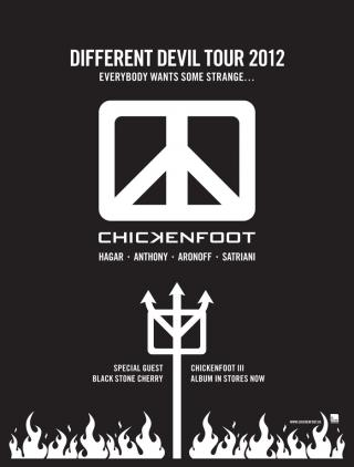DIFFERENT DEVIL TOUR 2012 - DATES ANNOUNCED