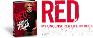 "Sammy's new book - ""RED: My Uncensored Life In Rock"" out now!"