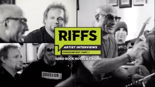 "Chickenfoot Interview featured in new ""RIFFS"" Video series from the Hard Rock Hotel & Casino"