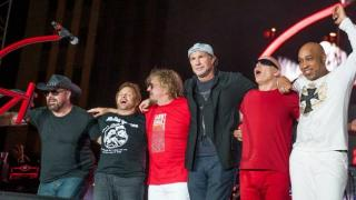 Chickenfoot Reunites For Sammy's Birthday Bash