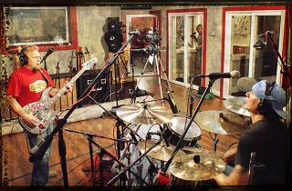 Chickenfoot in Studio Photos