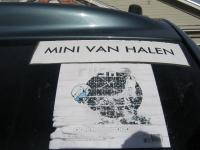 The Mini Van Halen Mobile ..Roadtrip to another show!