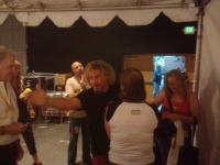 Talking with Sammy backstage in Indio!!
