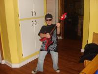 Joe Satriani Halloween Costume