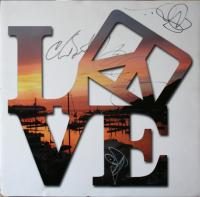 I love, love, love my signed LOVE sign!!