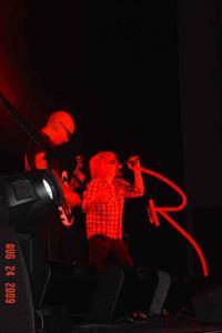 Satch & Sammy in red