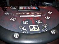 Chickenoot Poker table