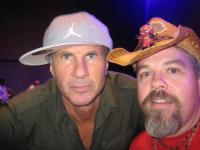 Salami and Chad Smith at Phoenix Az Chic>|enfoot show. 09-23-09