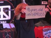 9 years old and homeless.....