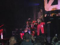 Sammy wearing a St. Louis Cardinals Jersery at the Pageant in St. Louis MO Friday night, 11-4-2011