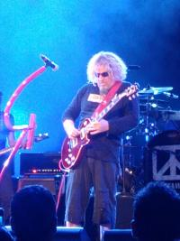 Sammy at the Tucson show. Awesome Concert