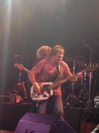 Michael Anthony and his Chickenfoot guitar