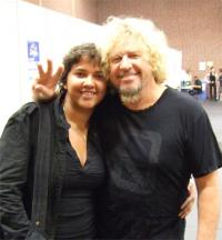Me and Sammy Hagar