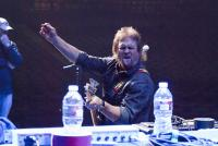 Mike Goofing around during soundcheck