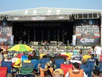 The stage @ Rocklahoma