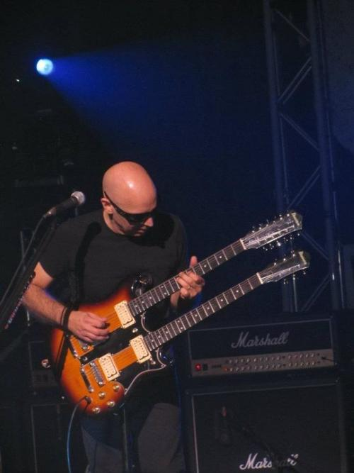 Satch Double Neck... Warfield Nov 1, 2011