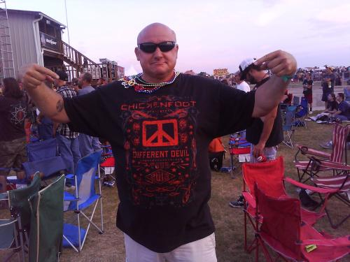 My 1st Chickenfoot Shirt,