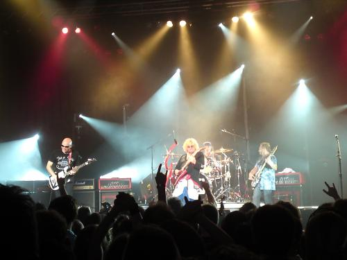 Chickenfoot's amazing concert in Heerhugowaard - The Netherlands