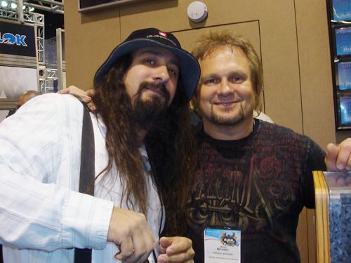 Me and Michael Anthony