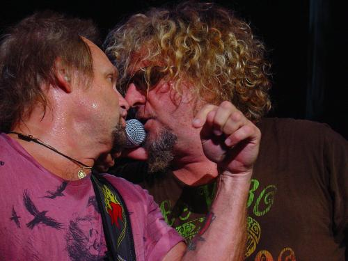 Mike Anthony and Sammy Hagar by Thom seling