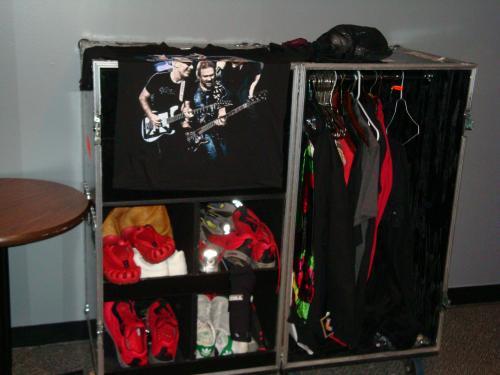 Sammy's Personal Backstage Roadshow Closet