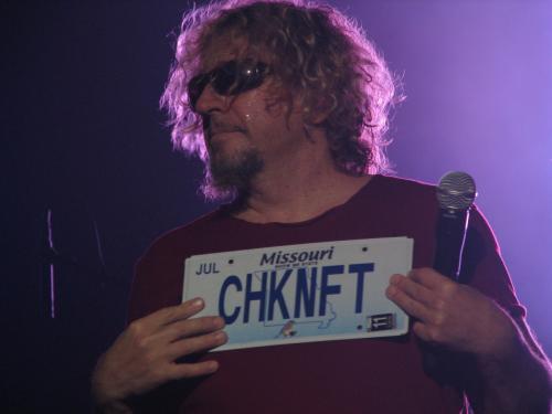 CHKNFT license plates