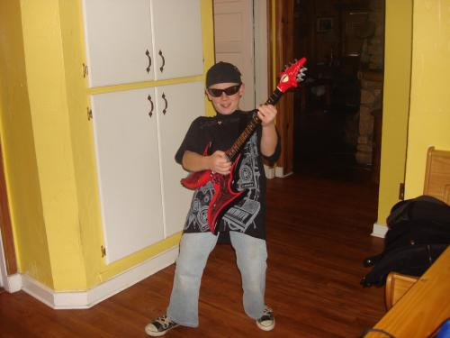 Joe Satriani Halloween Costume