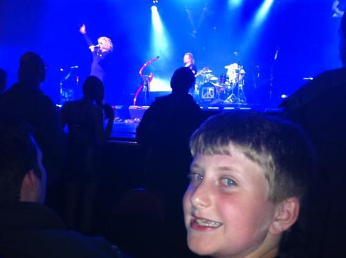 Tyler's First Concert