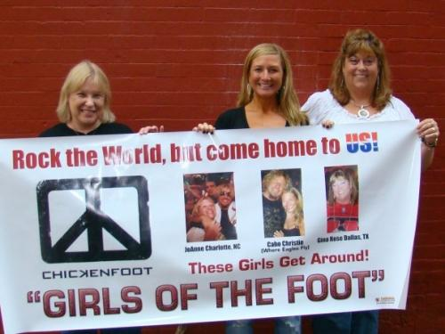 Girls of the Foot