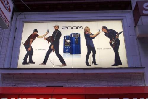 Zoom Billboard in NY