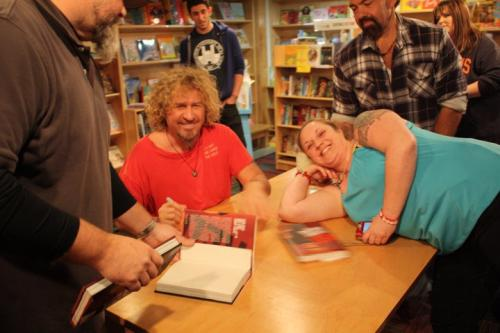 Red book signing