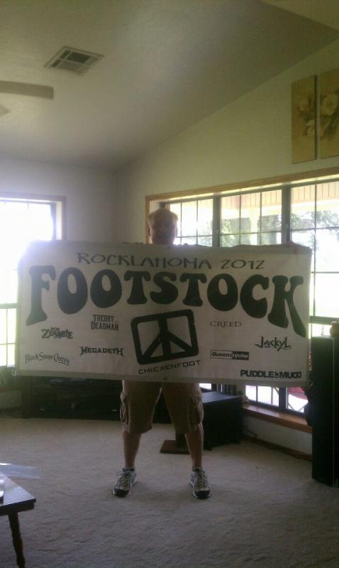 FOOTSTOCK @)!@ (ROCKLAHOMA)
