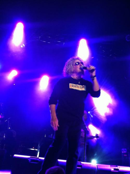 Chickenfoot in Denver Front & Center!