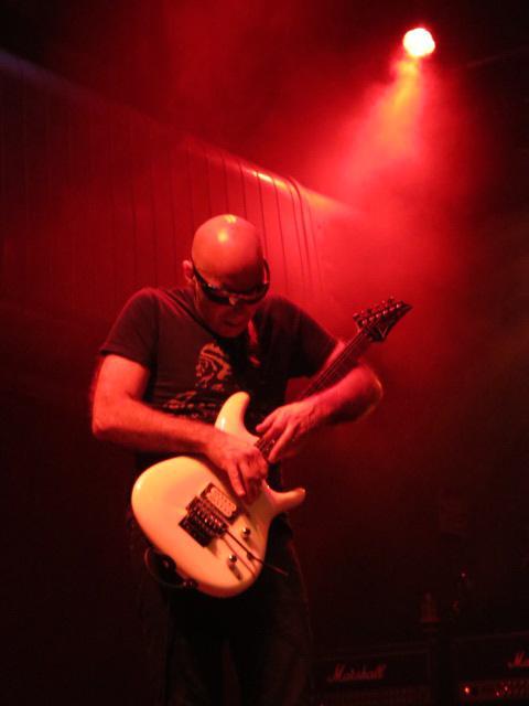 Joe was smokin' the guitar