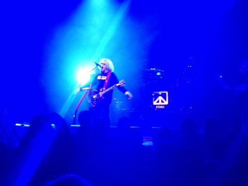 Sammy with guitar....
