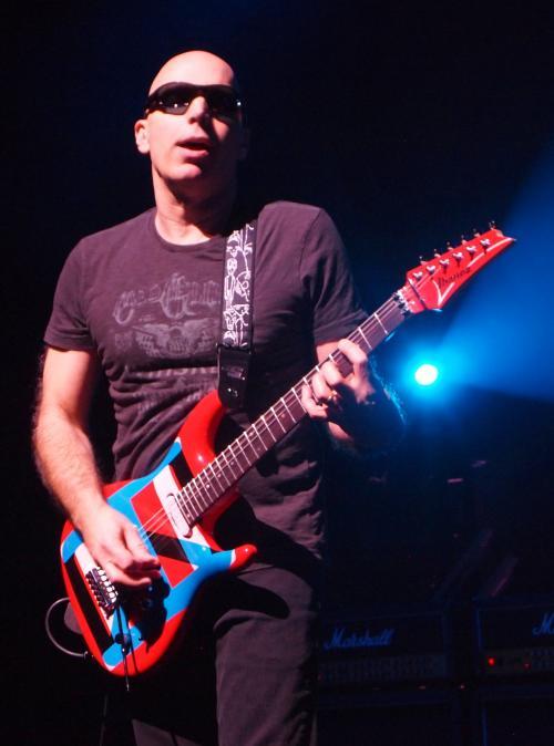 Joe rocks Olympia