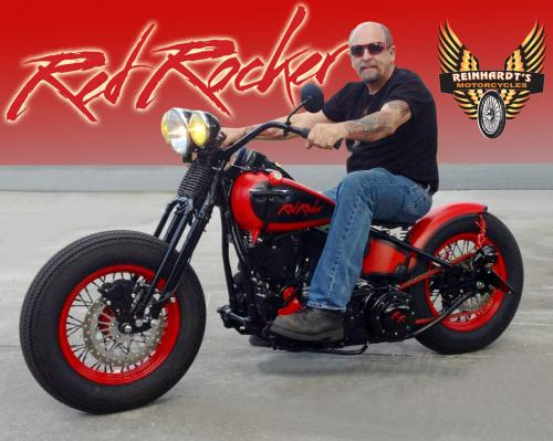 RED ROCKER BOBBER
